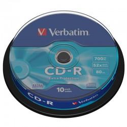 Verbatim CD-R 52x 700 MB (Tarrina 10 Uds.)
