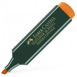 Faber-Castell Marcador Naranja Textliner