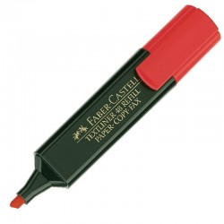 Faber-Castell Marcador Rojo Textliner